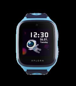 smartwatch blå