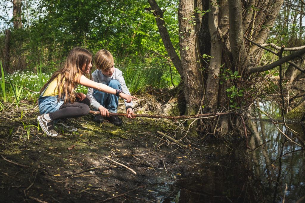 Børn i naturen til bæredygtighed blog