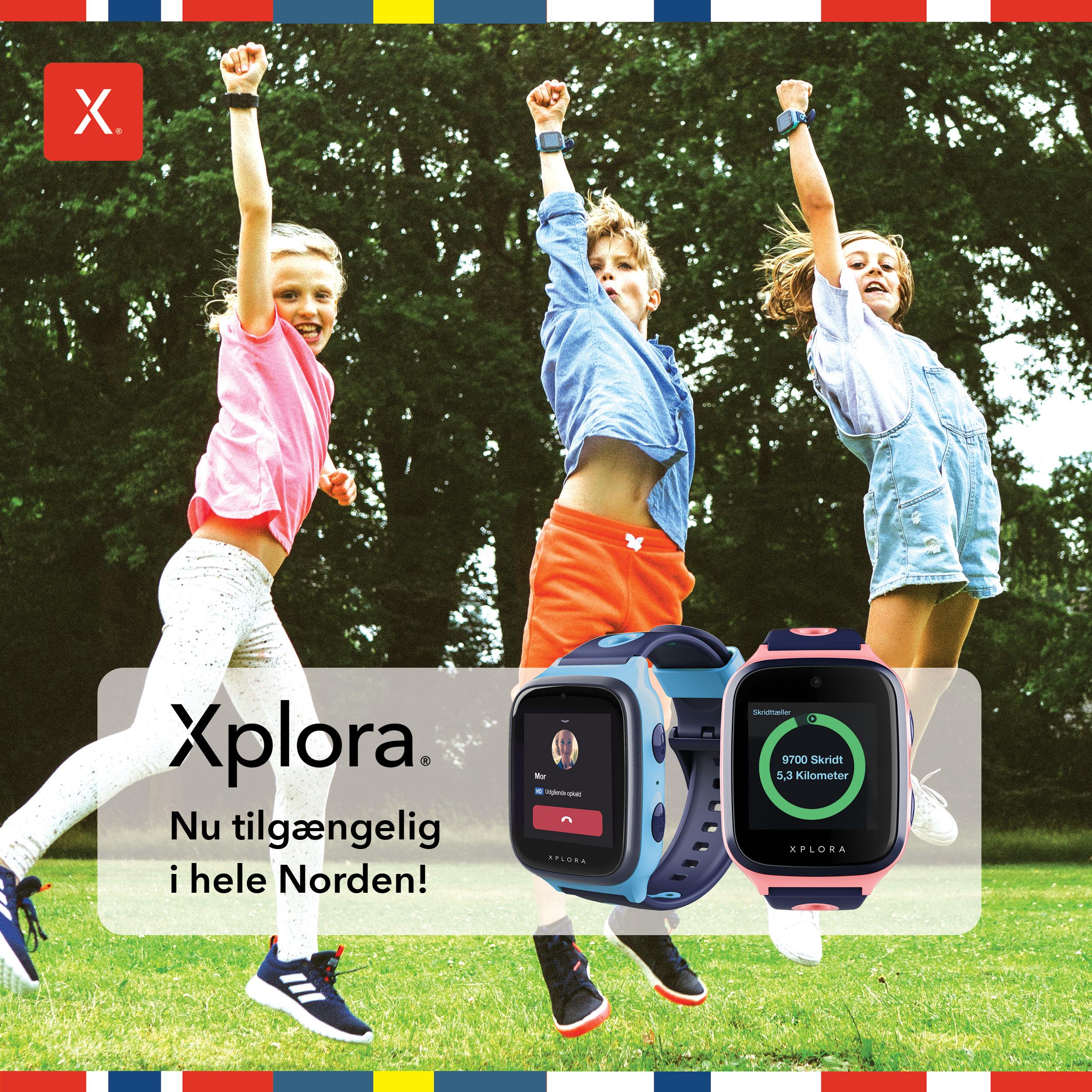 XPLORA – nu tilgængelig i hele Norden!