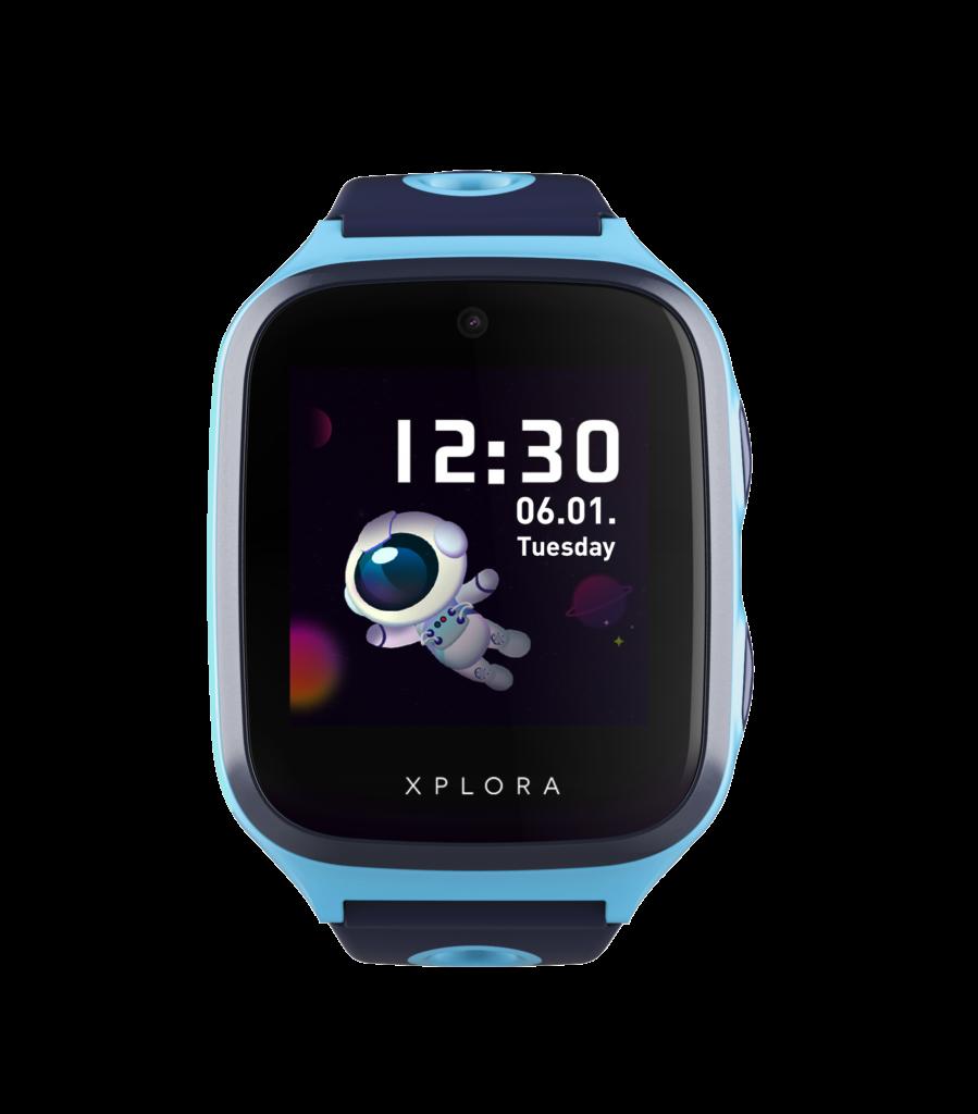 Billede af blå ur til GOPLAY page