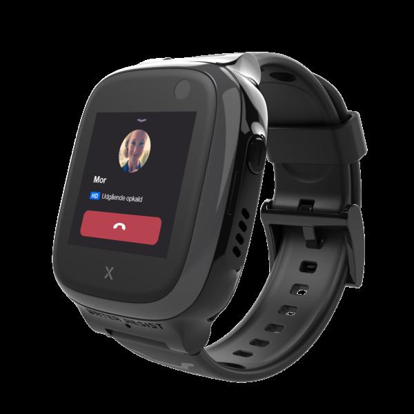 sort smartwatch som er en telefon
