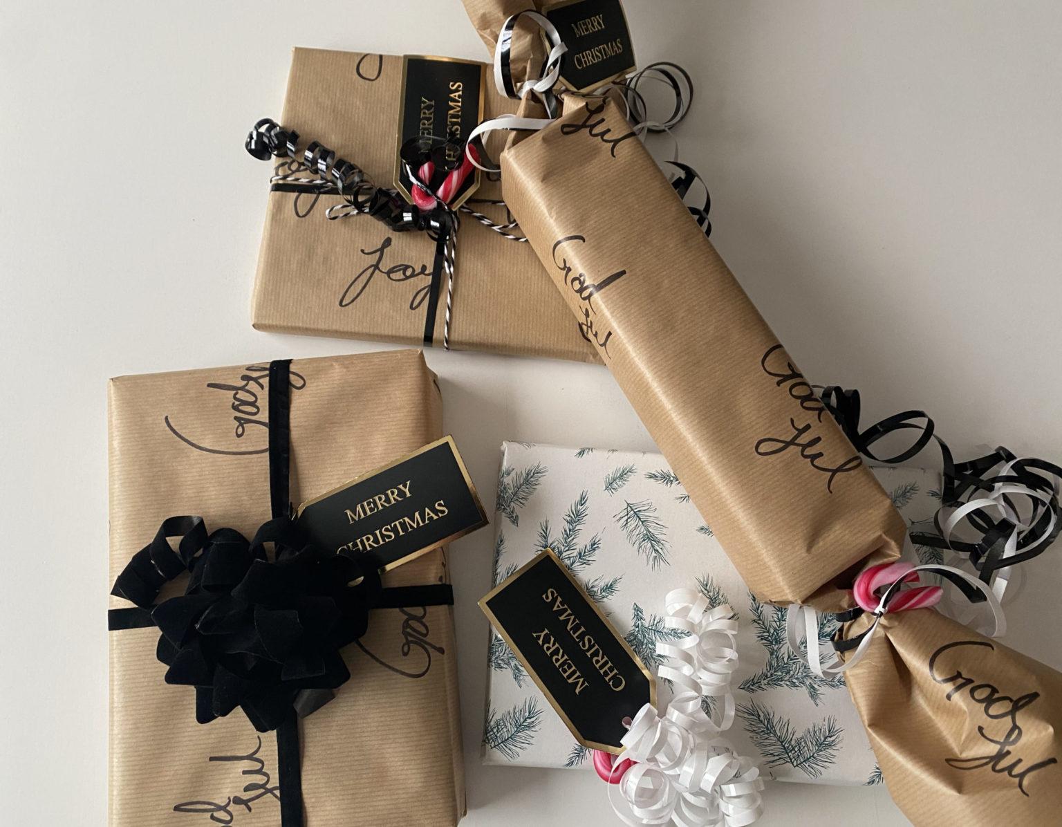 5 steps til en kreativ og personlig julegaveindpakning!