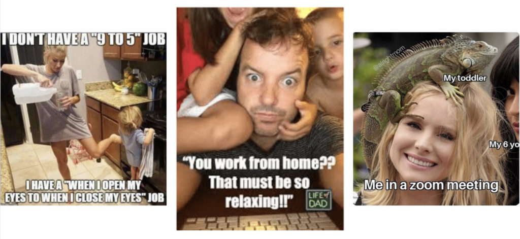 meme hjemmekontor