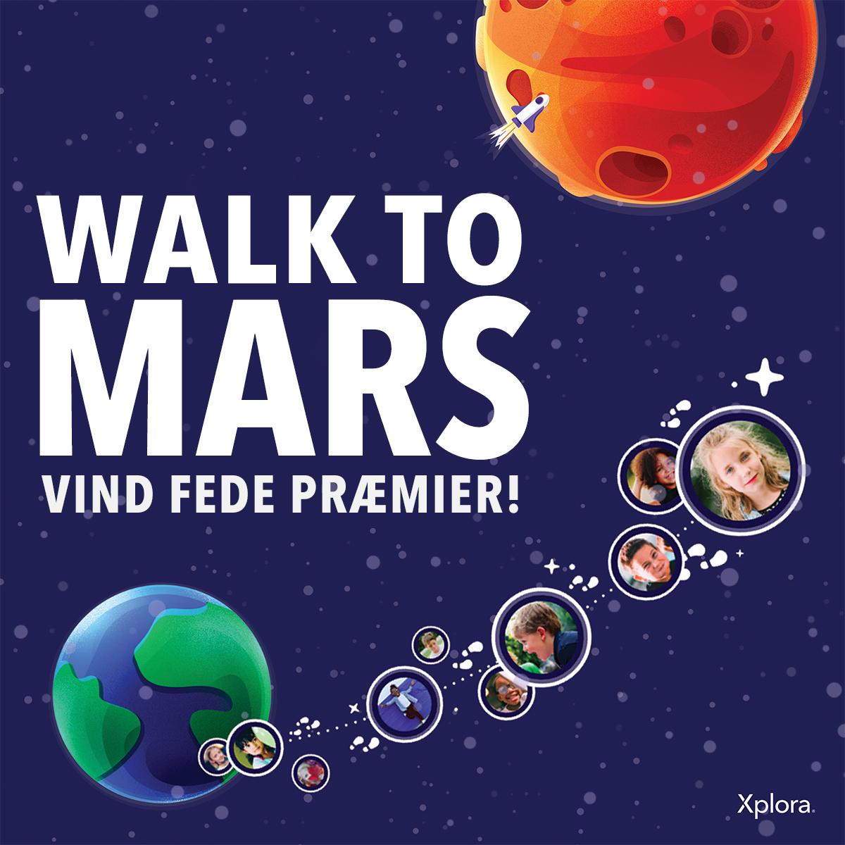 Walk to mars