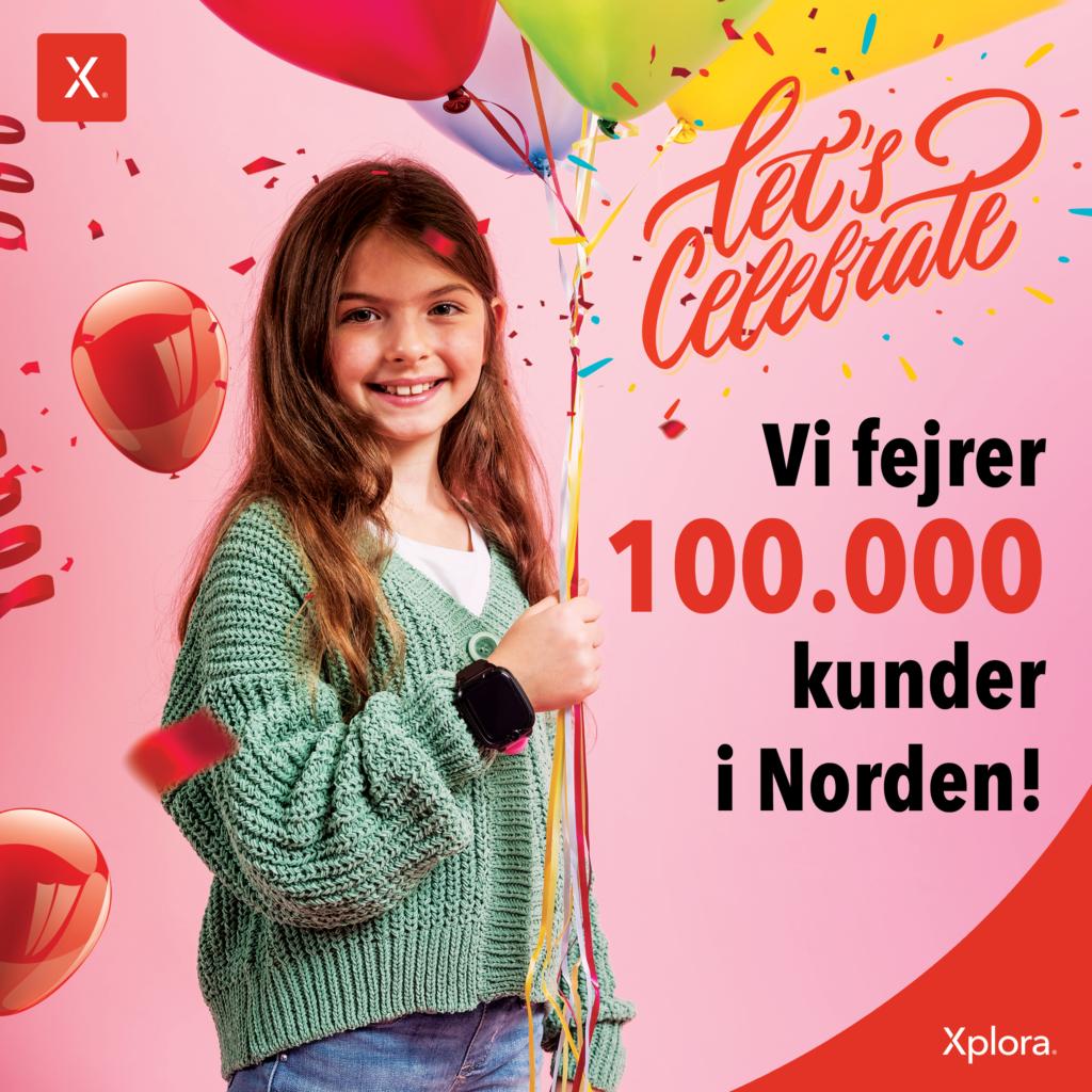 100000 kunder